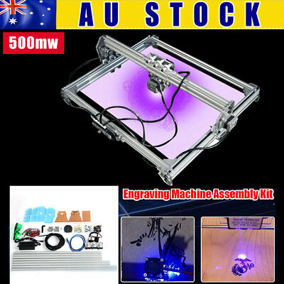 AU 500mw 65x50cm Laser Engraving Engraver Carver Cutter Printer Cutting Machine