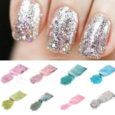 Mixed Flake Glitter Pots Sequins Nail Face Eye Shadow Tattoo for Festival SH