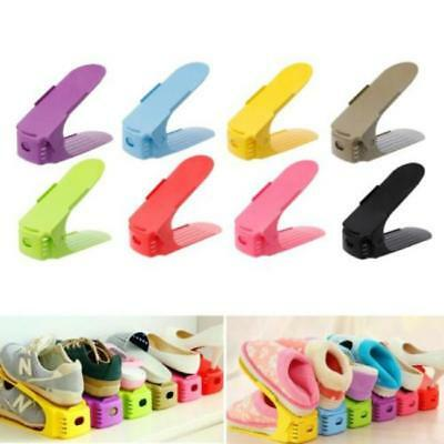 1PC Shoe Rack Double Cleaning Storage Shoebox Shoes Organizer Stand Shelf LC