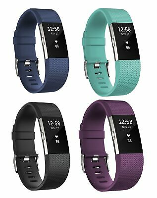 Fitbit Charge 2 Heart Rate + Fitness Wrist Band - Choice of Colour and Size.