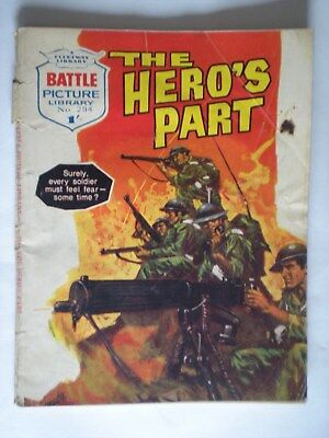 Battle Picture Library Comic No. 294 - 1967 - The Hero's Part
