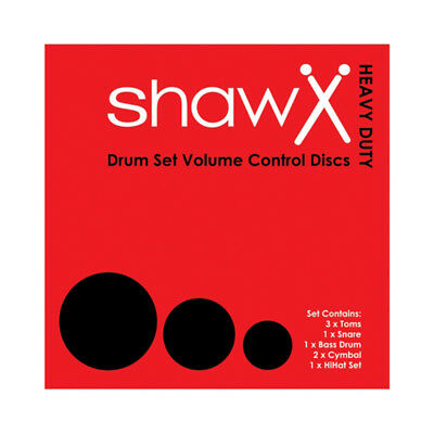 Shaw VCD Heavy Duty American Fusion & Cymbal Set (NEW)