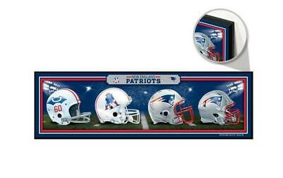 New England Patriots Holzschild XL  76 cm ! !,NFL Football,Helm History