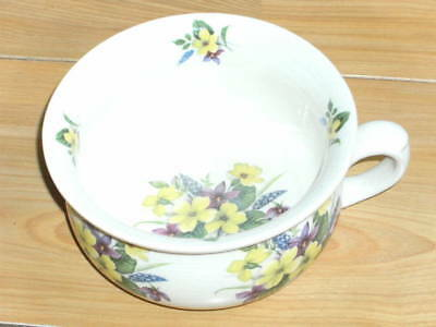Vintage Arthur Wood Child's/small/6 Inch Chamber Pot Decorated With Primroses