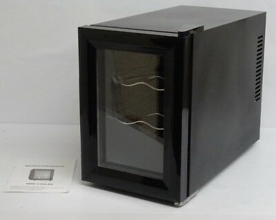 18 Litre Wine Cooler Black Mains Operated RRP 76.99 lot B2650 2703477
