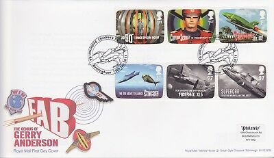 Gb Stamps First Day Cover 2011 Gerry Anderson Capt Scarlet Rare Pmk Collection