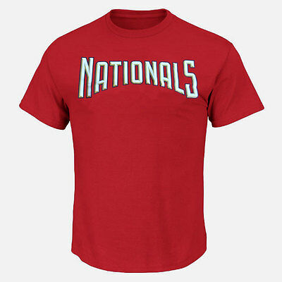 Washington Nationals Youth Officially Licenced MLB Logo T-shirt Medium