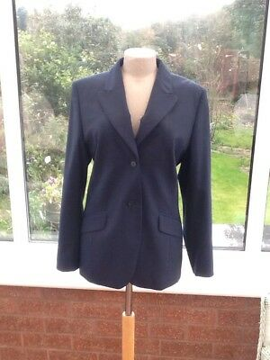 Ladies new blue suit coat from Next size 16
