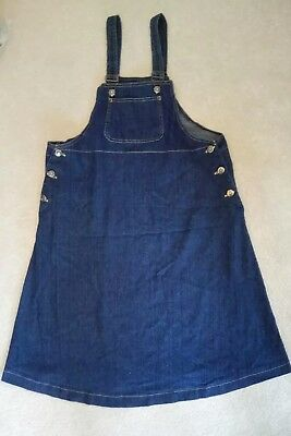 Really Cute Maternity Denim A - Line Dress Size 14