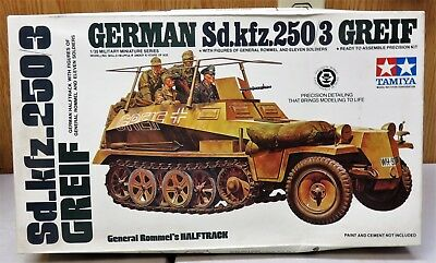 Tamiyagerman Sd.kfz.250/3 Greif 1/35 Scale Model Kit New Old Stock ! !