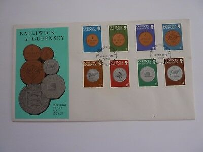 Guernsey Definitive Issue 1979 FDC