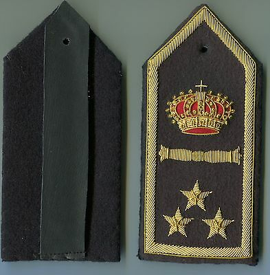 Italian Officers Colonel Rank Boards of the Air Force WW2