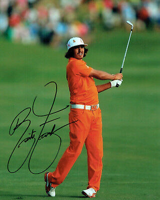 Rickie FOWLER SIGNED Autograph 10x8 Photo AFTAL COA Ryder Cup Winner Team USA