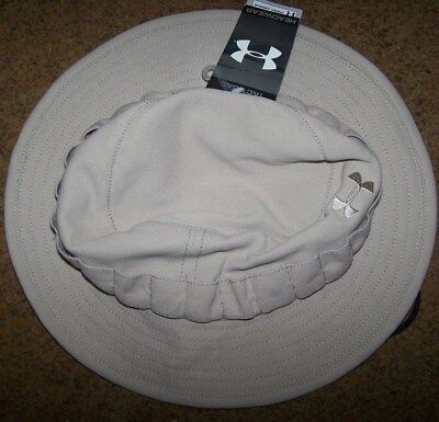 Boonie Hat, Khaki, Under Armour Sun Hat, Size Large *new*
