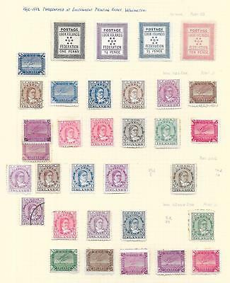 Cook Islands stamps 1892 Collection of 33 CLASSIC stamps HIGH VALUE!