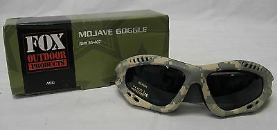 NEW  Military Tactical Mojave Shatterproof UV rated GOGGLES - ACU ARMY DIGI CAMO