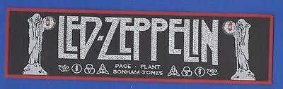 Led Zeppelin Song Farewell vintage 1980s  'Superstrip' SEW-ON PATCH