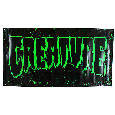 Creature 4ft x 2ft Banner Green and Black