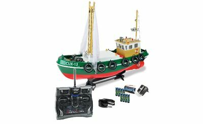 Carson 500108014 1:24 RC-Fischkutter Cux-13 100% RTR 2.4 GHz Neuware