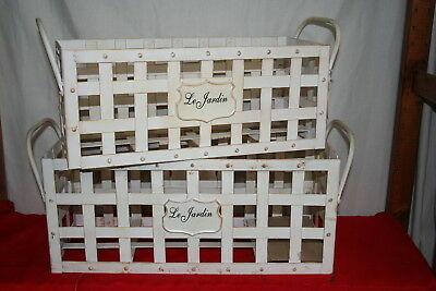Wholesale stock job lot Decorative Basket Planter Pair 2 Pairs per box