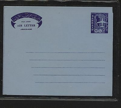 Bahrain   air  letter  sheet    unused             KL0712