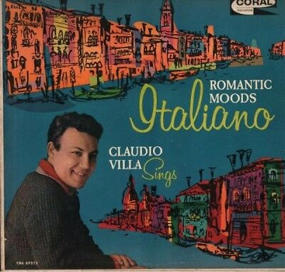 Claudio Villa -Made In Usa- Romantic Moods