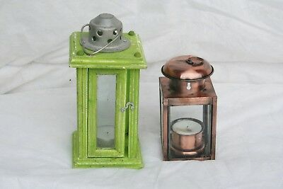 Wholesale stock job lot Ex Display T Lite Lanterns & Dish T Lite Holders x20