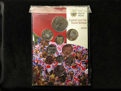 Royal Mint Commemorative Mint Condition Coins of the Year 2012