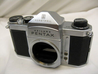 VINTAGE HONEYWELL HEILAND PENTAX H2 , 35mm FILM SLR CAMERA