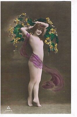 Glamour - Cpc - Edwardian Semi-Nude Dancer By P.m.