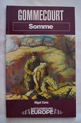 WW1 Gommecourt Somme Reference Book