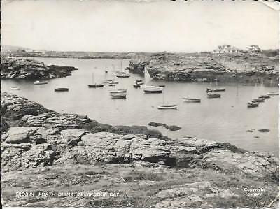 Porth Diana, Treadour Bay, Anglesey - Posted Postcard 1960