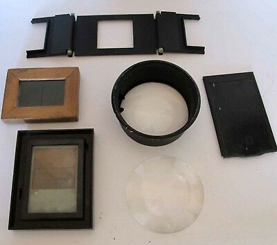 Assorted Darkroom Equipment Including Two Lenses