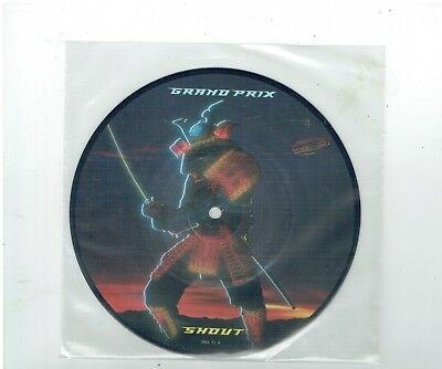 Grand Prix Shout/keep On Believing Picture Disc 45 1983
