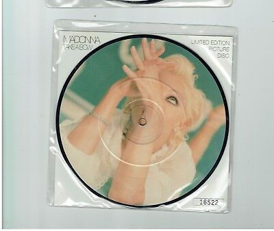 Madonna Take A Bow Picture Disc 45 1994
