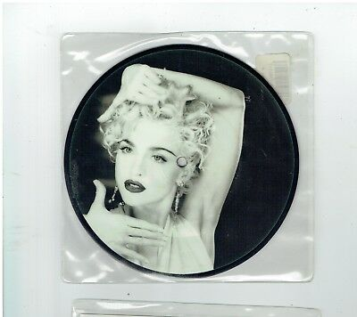 Madonna Vogue Picture Disc 45 1990