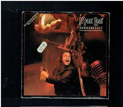 Meatloaf Nowhere Fast Vinyl  Ps 45 1984 Pop Up Sleeve
