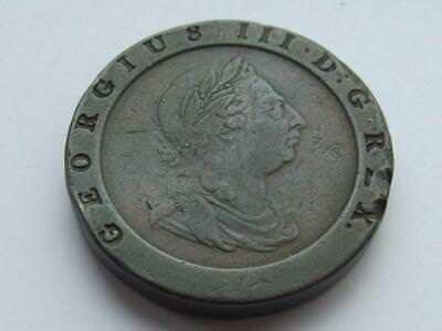 A 1797 George III Cartwheel Twopence - Good collecctable coin with few marks