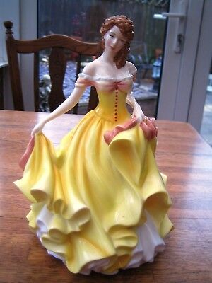 Royal Doulton Pretty Ladies Summer In Beautiful Condition