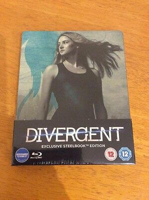 Divergent Blu Ray Steelbook Brand New And Sealed