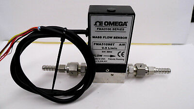 OMEGA ENGINEERING FMA3109ST 0-5 Lpm AIR STAINLESS STEEL MASS FLOW CONTROLLER #2