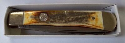 Boker Tree Brand Solingen Germany Double Blade Folding Knife    -382D