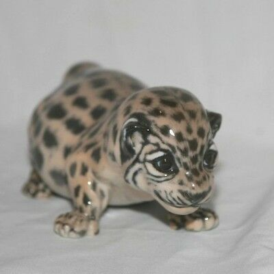 Royal Copenhagen Figurine Jaguar Cub  #4659 by Jean Grunt   Perfect