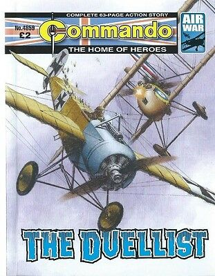 The Duelist,commando The Home Of Heroes,no.4859,war Comic,2015