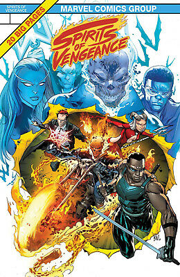 Spirits of Vengeance #1 Marvel Legacy Lenticular Variant Cover 2017