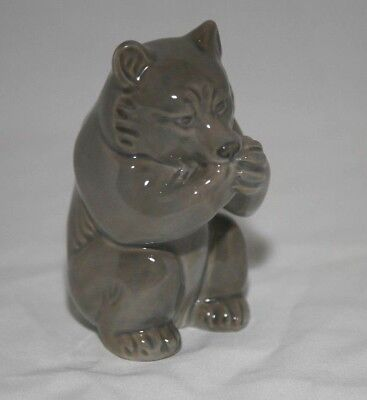 Royal Copenhagen Figurine Bear #3014 by Knud Kyhn in 1928  Perfect