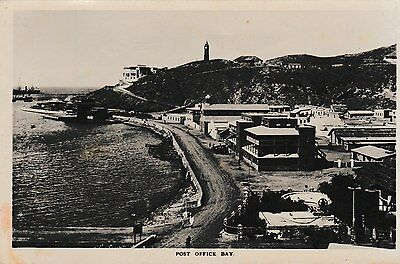Aden - Post Office Bay - old post card
