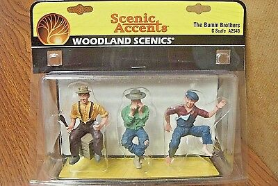 Woodland Scenics The Bumm Brothers  G Scale Figures