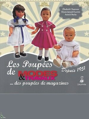 Les Poupées de Modes & Travaux - Dolls - French book