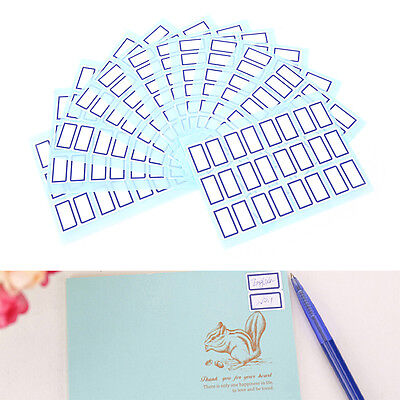Self Adhesive Sticky White Label Writable Name Stickers Blank Note Labels  ESUS